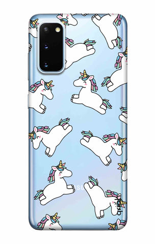 Jumping Unicorns Samsung Galaxy S20 Cases & Covers Online
