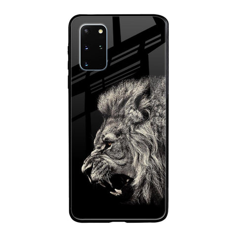 Brave Lion Samsung Galaxy S20 Plus Glass Cases & Covers Online