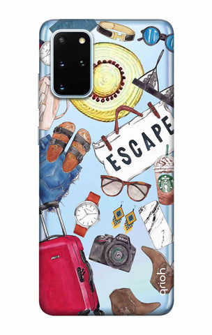 Travel Doodle Samsung Galaxy S20 Plus Cases & Covers Online