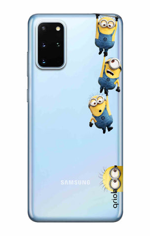 Falling Minions Samsung Galaxy S20 Plus Cases & Covers Online
