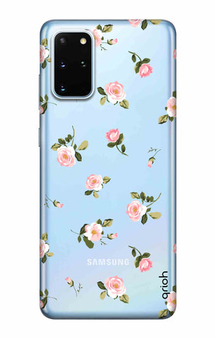 Pink Rose All Over Samsung Galaxy S20 Plus Cases & Covers Online