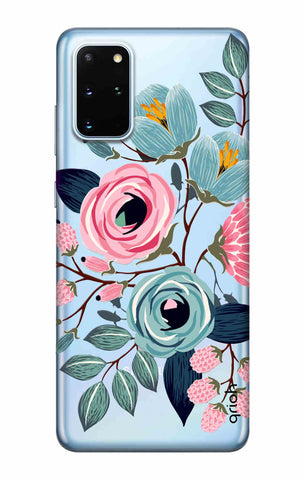 Pink And Blue Floral Samsung Galaxy S20 Plus Cases & Covers Online