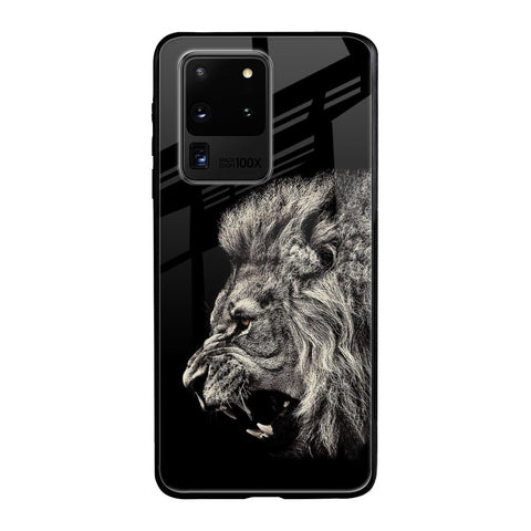 Brave Lion Samsung Galaxy S20 Ultra Glass Cases & Covers Online