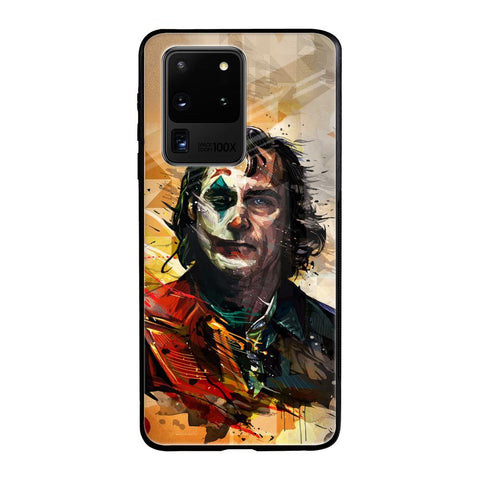 Psycho Villain Samsung Galaxy S20 Ultra Glass Cases & Covers Online