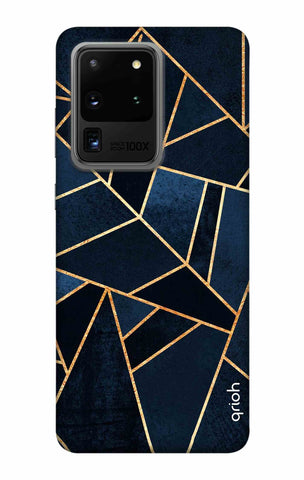 Abstract Navy Samsung Galaxy S20 Ultra Cases & Covers Online