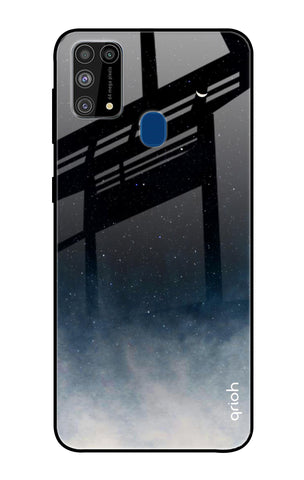 Black Aura Samsung Galaxy M31 Glass Cases & Covers Online