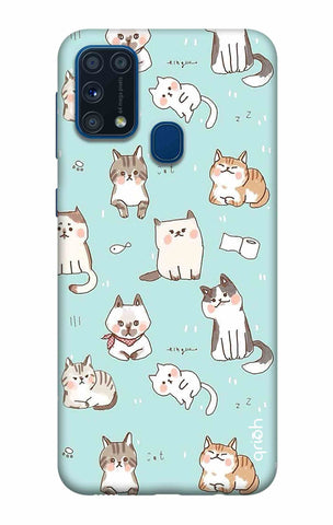 Cat Kingdom Samsung Galaxy M31 Cases & Covers Online