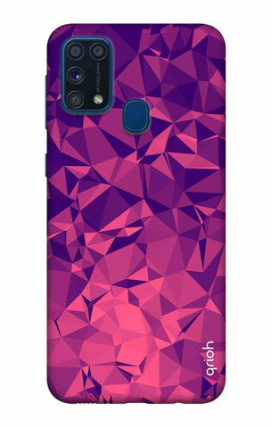 Purple Diamond Samsung Galaxy M31 Cases & Covers Online