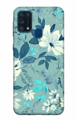 White Lillies Samsung Galaxy M31 Cases & Covers Online
