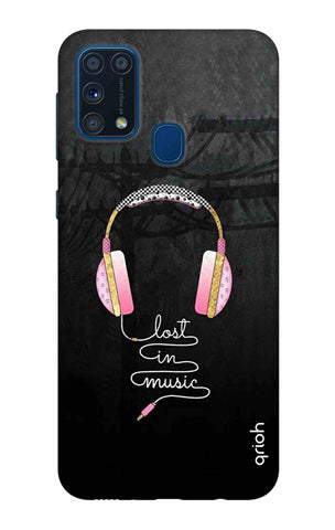 Lost In Music Samsung Galaxy M31 Cases & Covers Online