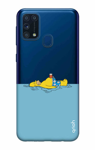 Simpson Chill Samsung Galaxy M31 Cases & Covers Online