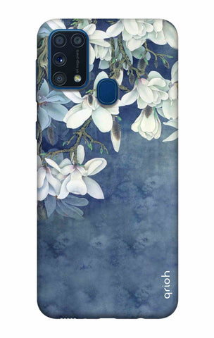 White Flower Samsung Galaxy M31 Cases & Covers Online