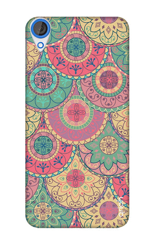 Colorful Mandala HTC 820 Cases & Covers Online