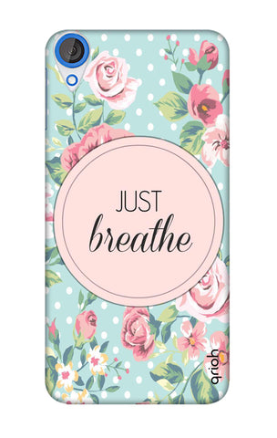 Vintage Just Breathe HTC 820 Cases & Covers Online