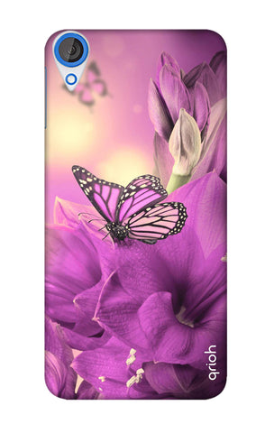 Purple Butterfly HTC 820 Cases & Covers Online
