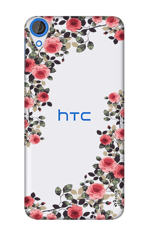 Floral French HTC 820 Cases & Covers Online