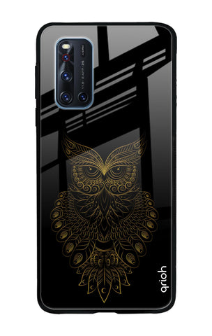 Golden Owl Vivo V19 Glass Cases & Covers Online
