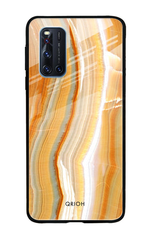 Aesthetic Mountains Vivo V19 Glass Cases & Covers Online