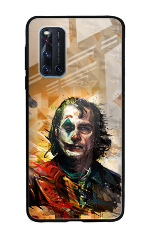 Psycho Villain Vivo V19 Glass Cases & Covers Online
