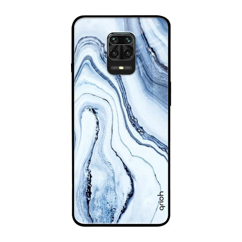 Frozen Ice RedMi Note 9 Pro Max Glass Cases & Covers Online