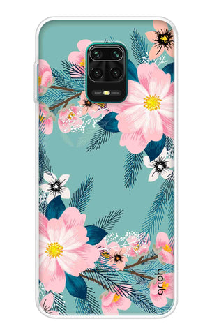 Graceful Floral Case Redmi Note 9 Pro Max Cases & Covers Online