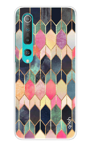 Colorful Brick Pattern Case Xiaomi Mi 10 Pro Cases & Covers Online