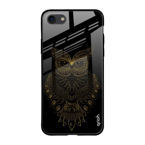 Golden Owl iPhone SE 2020 Glass Cases & Covers Online