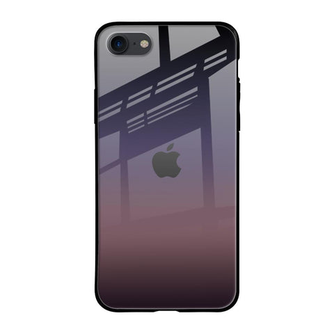 Grey Ombre iPhone SE 2020 Glass Cases & Covers Online
