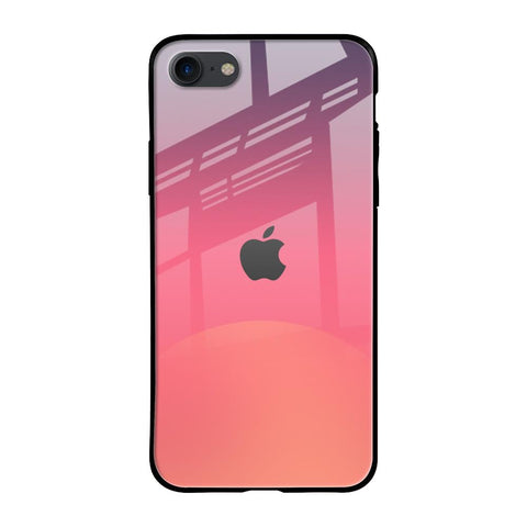 Sunset Orange iPhone SE 2020 Glass Cases & Covers Online