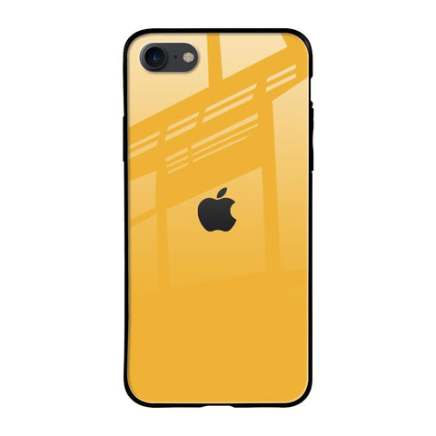 Fluorescent Yellow iPhone SE 2020 Glass Cases & Covers Online