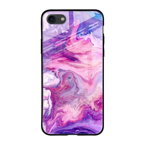 Cosmic Galaxy iPhone SE 2020 Glass Cases & Covers Online