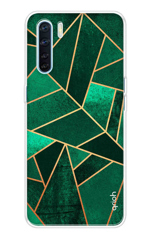 Emerald Tiles Case Oppo A91 Cases & Covers Online