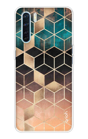Bronze Texture Case Oppo A91 Cases & Covers Online