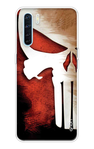 Red Skull Case Oppo A91 Cases & Covers Online