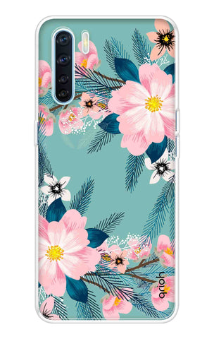 Graceful Floral Case Oppo A91 Cases & Covers Online