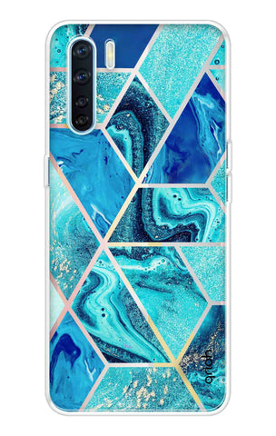 Aquatic Tiles Case Oppo A91 Cases & Covers Online