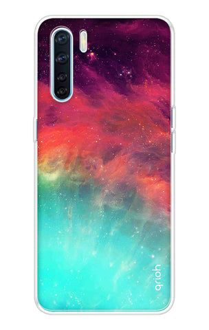 Colorful Aura Case Oppo A91 Cases & Covers Online