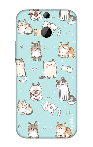 Cat Kingdom HTC M8 Cases & Covers Online