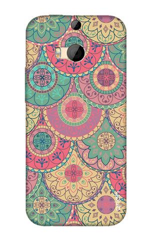 Colorful Mandala HTC M8 Cases & Covers Online