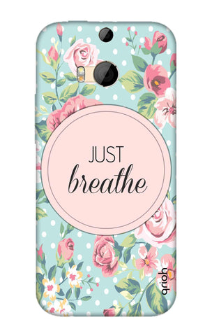 Vintage Just Breathe HTC M8 Cases & Covers Online
