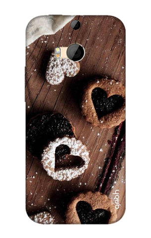 Heart Cookies HTC M8 Cases & Covers Online