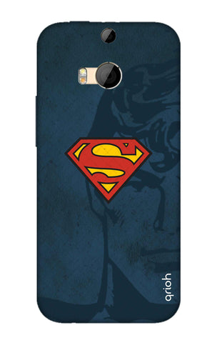 Wild Blue Superman HTC M8 Cases & Covers Online