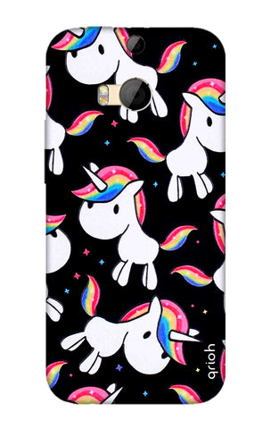 Colourful Unicorn HTC M8 Cases & Covers Online