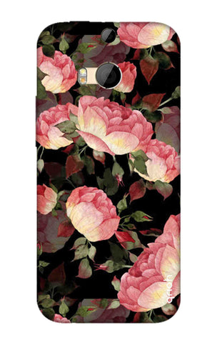 Watercolor Roses HTC M8 Cases & Covers Online