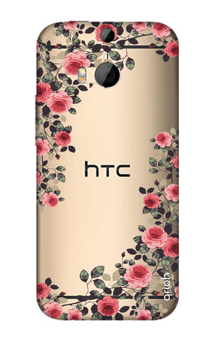 Floral French HTC M8 Cases & Covers Online
