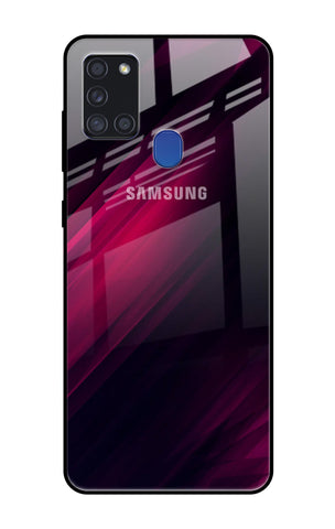 Razor Black Samsung Galaxy A21s Glass Cases & Covers Online