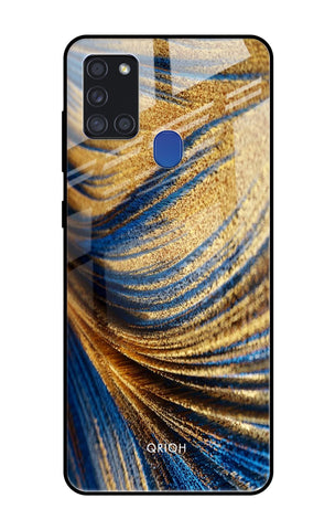 Exquisite Drape Samsung Galaxy A21s Glass Cases & Covers Online