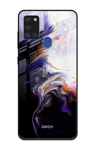 Enigma Smoke Samsung Galaxy A21s Glass Cases & Covers Online