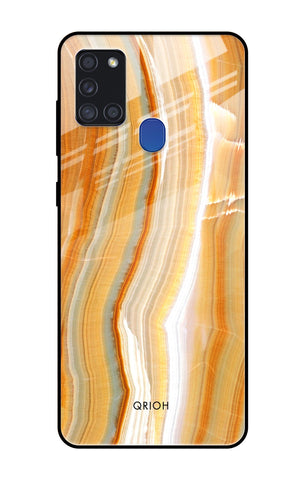 Aesthetic Mountains Samsung Galaxy A21s Glass Cases & Covers Online