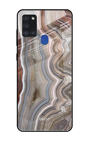 Carved Stone Samsung Galaxy A21s Glass Cases & Covers Online